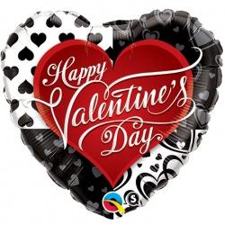 Ballon surprise st valentin