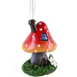 Brûleur d'encens forme champignon
