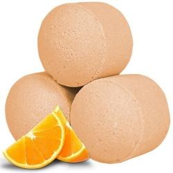 Boule de bain orange