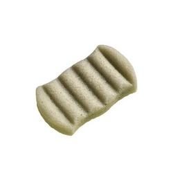 Eponge konjac XL pour le corps à l'argile verte