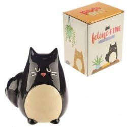 Tirelire chat feline fine