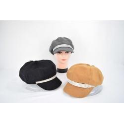 Bonnet gavroche avec strass