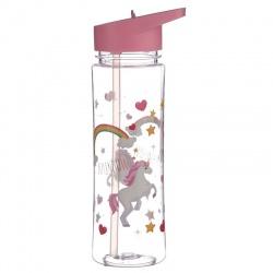 Bouteille d'eau (gourde) licorne